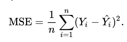 Cost function equation